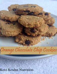 orange choc chip cookies 231x300 - Keto Orange Chocolate Chip Cookies
