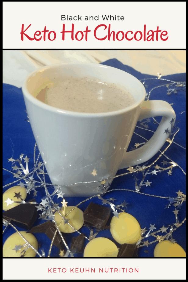 Black and White Keto Hot Chocolate - Black and White Keto Hot Chocolate