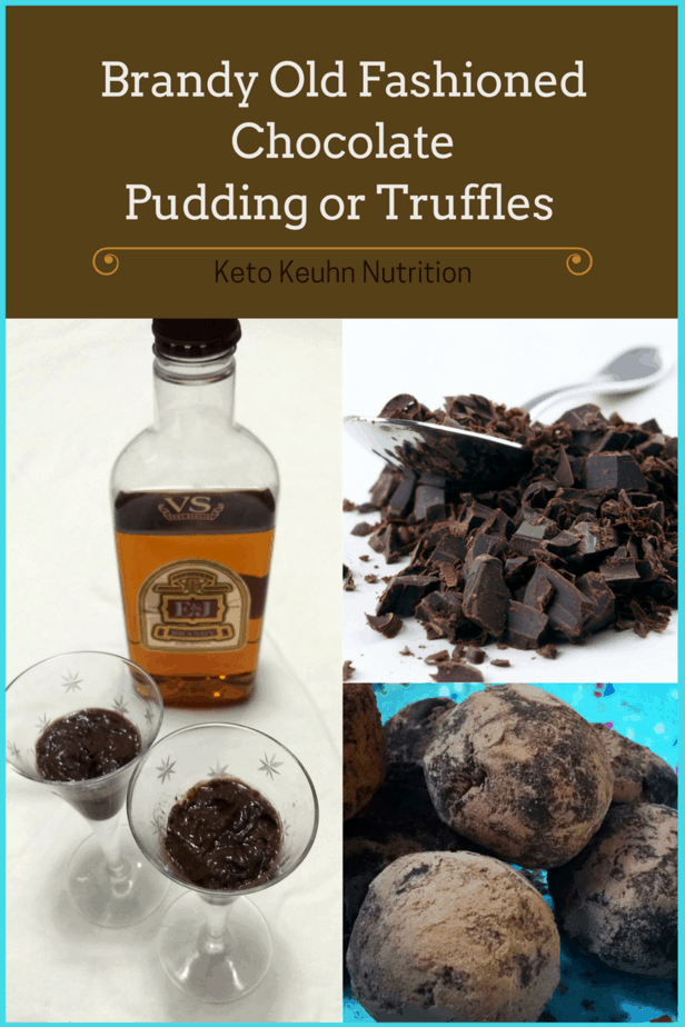 Spray and Style Hair Blog 1 - Brandy Old Fashioned Chocolate Pudding Truffles