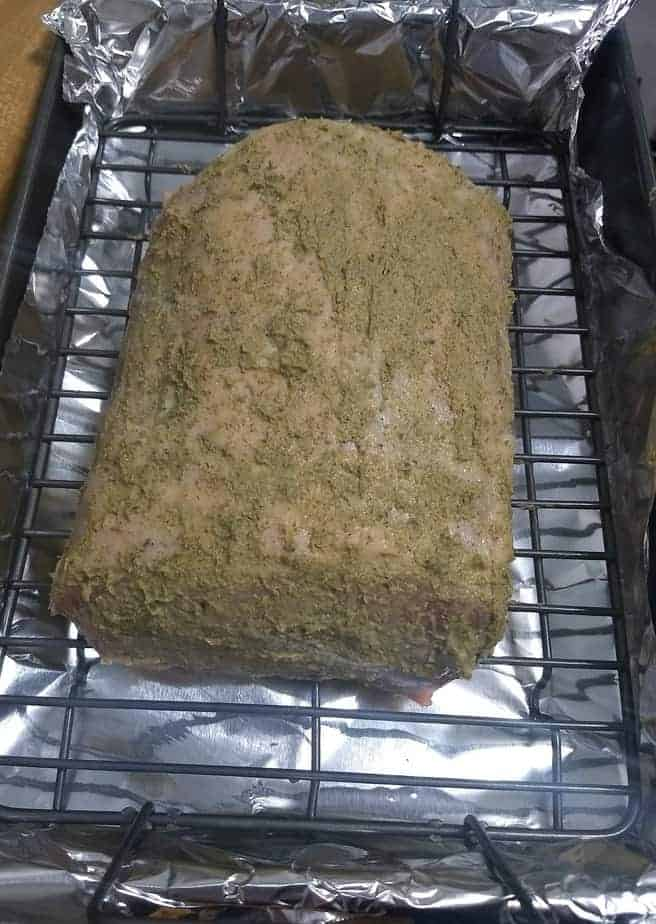 pork roast - Rosemary Dijon Mustard Pork Loin Roast