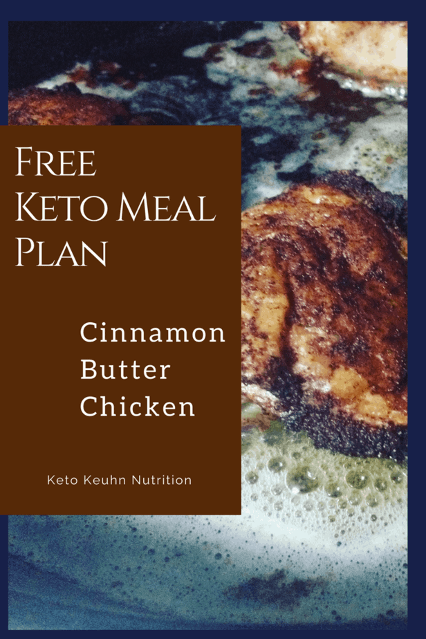 In this cinnamon butter chicken meal plan, you set yourself up for success by sticking to your diet. Having your food all ready to go makes your life a little bit easier when all you want to do is sit and relax when you get home.
