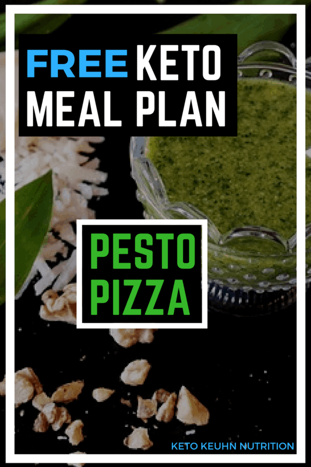 Free Keto Meal Plan - Pizza Meal Plan