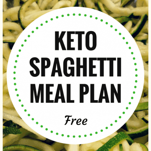 Try this keto meal plan today. Stop missing spaghetti just because you are eating keto or low carb. There are alternatives to grain pasta and one of them is using zucchini. You also get some crepes on this meal plan.