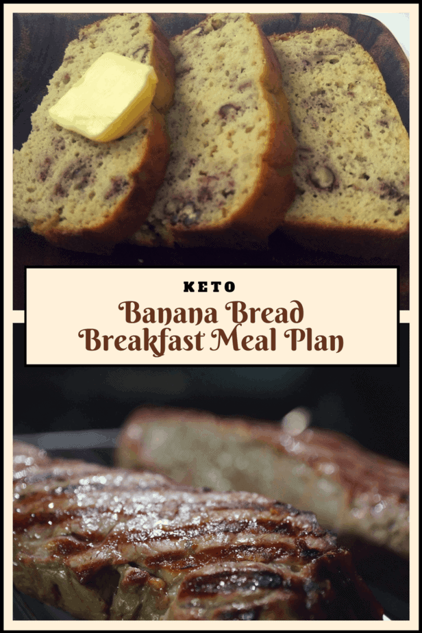 Do you miss some bread in the morning or heck even in the day? Well, if so, I've got a banana bread breakfast meal plan just for you all.
