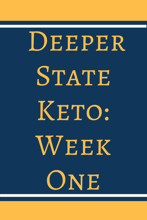 Week one on Deeper State Keto. Come see how I did on week one of DSK with no prep. It was a rough start but that did not stop me from staying on track.