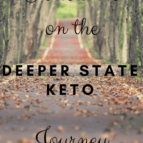 Come with me on my 90-day journey of the Deeper State Keto program put on by Keto Connect and Keto Savage. This program teaches you how to sustainably lose body fat with great results.