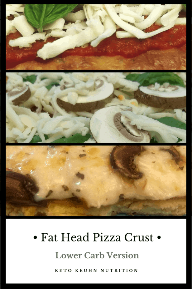 fat head pizza crust 1 - Fat Head Pizza Crust, Lower Carbs