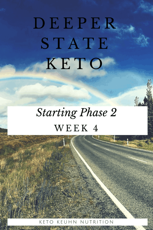 Deeper State Keto Week Four - Deeper State Keto: Week Four