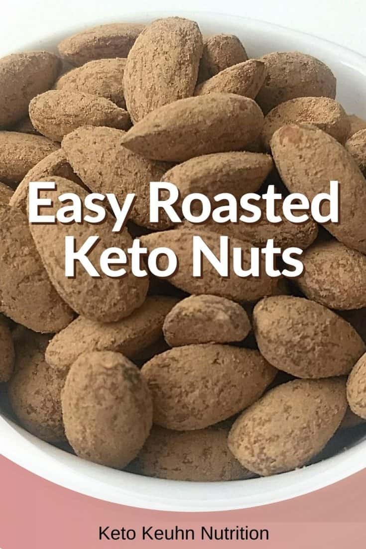 Easy Roasted Keto Nuts 735x1103 - Keto Roasted Almonds: Peanut Butter and Cocoa