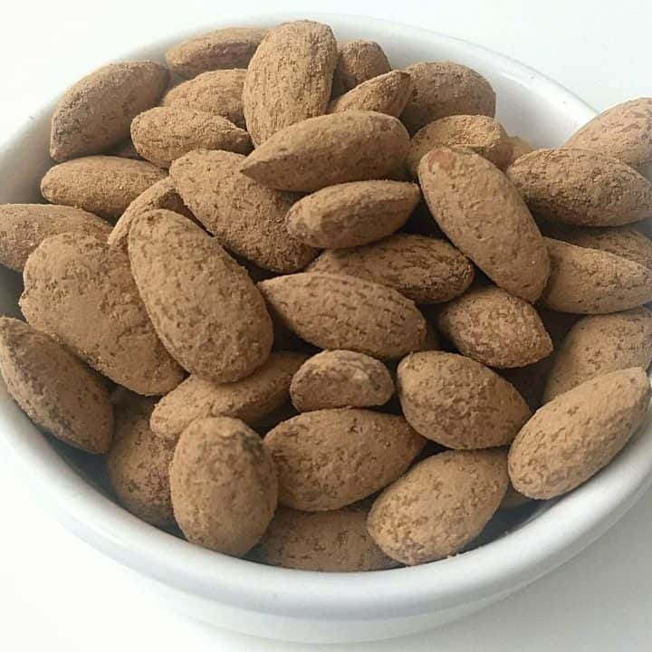 Keto Roasted Almonds 720x720 - Keto Roasted Almonds: Peanut Butter and Cocoa