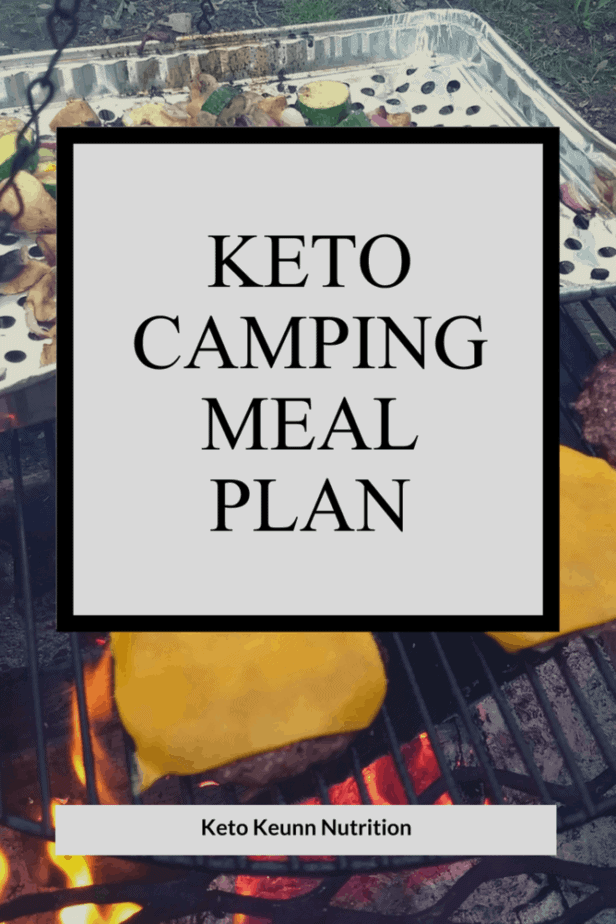 keto camping meal plan