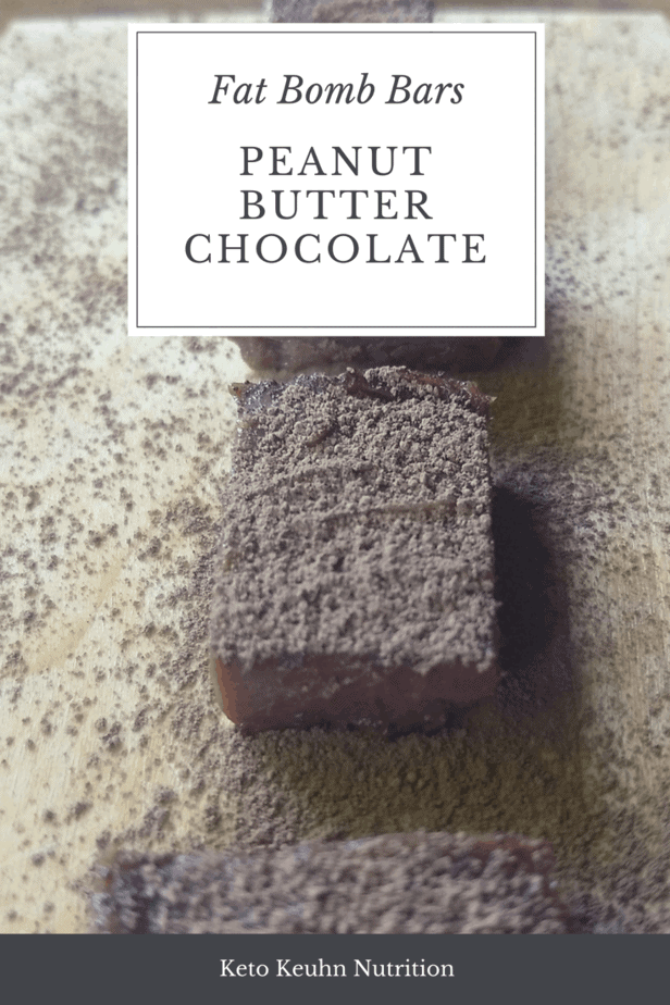 Creamy peanut butter chocolate fat bomb for your eating pleasure. This recipe uses 3-4 different main sources of fat to make it extra creamy and smooth.