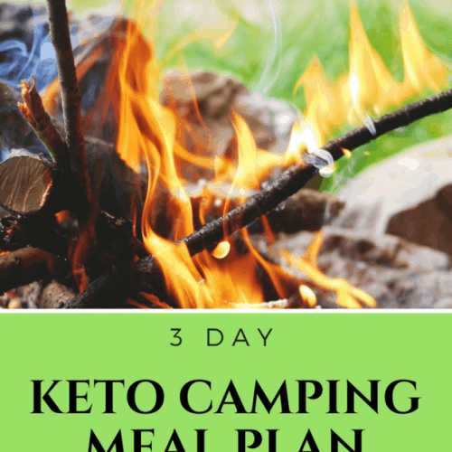 Are you keto and going camping but need some ideas for what to take? Check out my 3 day keto camping meal plan. It's easy and yummy. You can't go wrong. :)