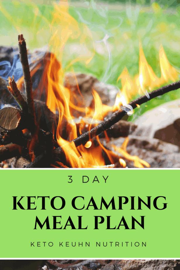 Keto camping meal plan 1 - 3 Day Keto Camping Meal Plan