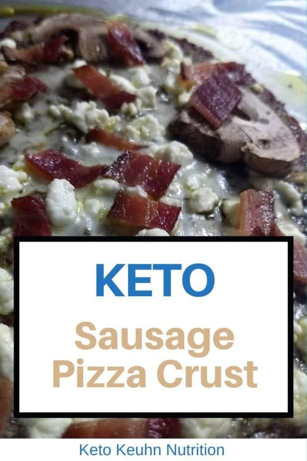 1 683x1024 - Easy Keto Sausage Crust Pizza Recipe