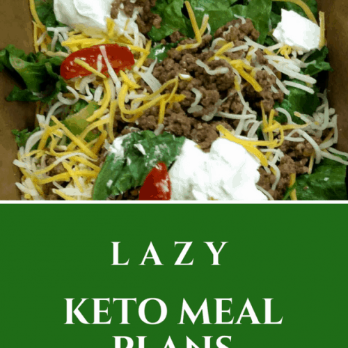 Need some easy keto meals? How about some lazy keto meal plans? Yes? Then, I've got you covered. I wrote out three meal plan ideas for you.