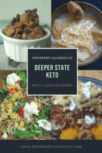 Here you will see some of my Deeper State Keto meals I had near the start, midway through and towards the end. Hope this is helpful to you all
