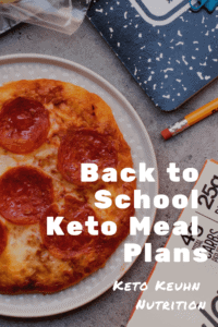 It's back to school time again. Having some meals planned for the week can make your life a little easier, so provided some school keto meal plan ideas.