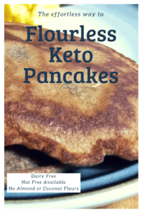 Looking for Flourless Keto Waffles? Look no further, these are flourless, no dairy and can be nut free! Make waffles or even pancakes.