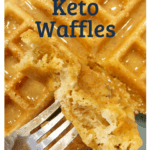 Flourless Keto waffles 1 150x150 - Keto Flourless Waffles: 3- Ingredients