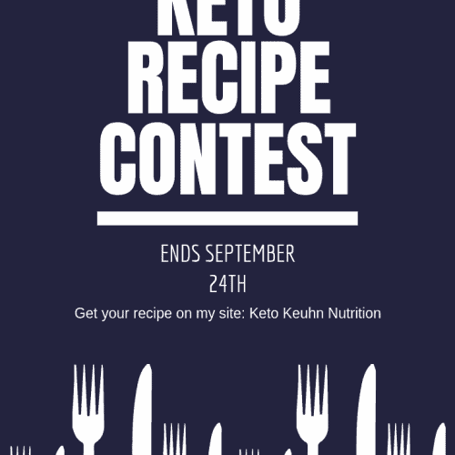 To those that follow me and make some great recipes on their own, this is for you. I'm having a recipe contest! Follow the simple rules and have fun!