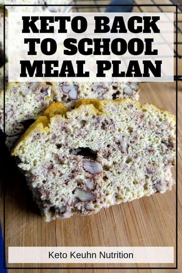 school meal plan2 - Back to School Keto Meal Plans