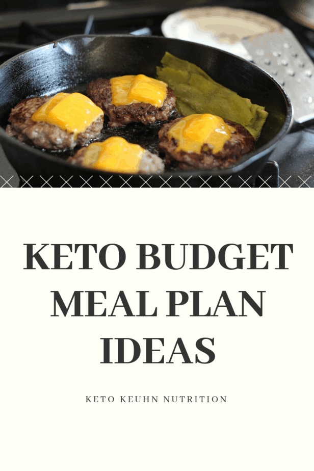 Eating keto and spending lots of money do not have to happen. This easy keto budget meal plan will give you some ideas to save money along with what to eat.