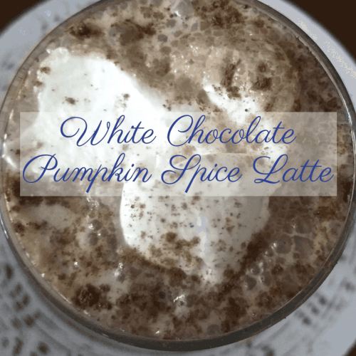 Are you looking for a different kind of pumpkin drink this year? How about one that's super easy to make. If so, try a White Chocolate Pumpkin Spice Latte.