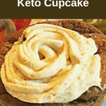 chocolate spice cupcake 150x150 - Keto Chocolate Pumpkin Muffins with Spiced Buttercream Frosting (w video)