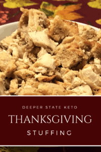 Love stuffing but hate all the carbs? Have no fear this year. We bring you the Carnivore Bread Keto Stuffing. Enjoy stuffing this year with no regrets!