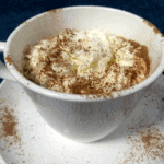 Warm your heart this winter with some keto buttered rum hot chocolate. Creamy, fatty & tastey goodness in a cup! Did I mention that it's also easy to make?
