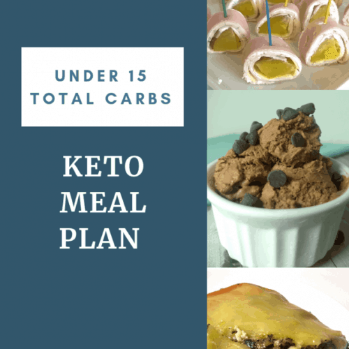 2 Simple keto meal plans with 15 carbs or less. I like to batch cook my meals to make meal planning easier and these plans will do that for you.
