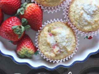 strawberry muffins pin 320x240 - Keto Mother's Day Dinner Recipes