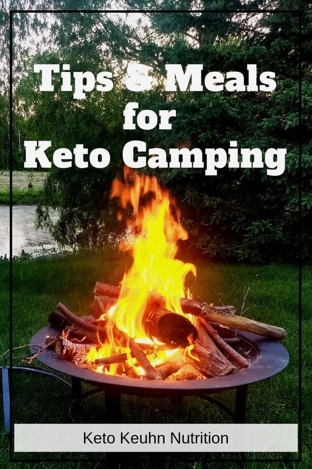 keto camping meals and tips