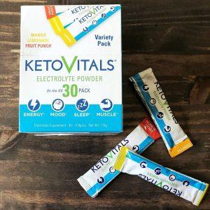 Keto vitals electrolyte Powder Travel Size