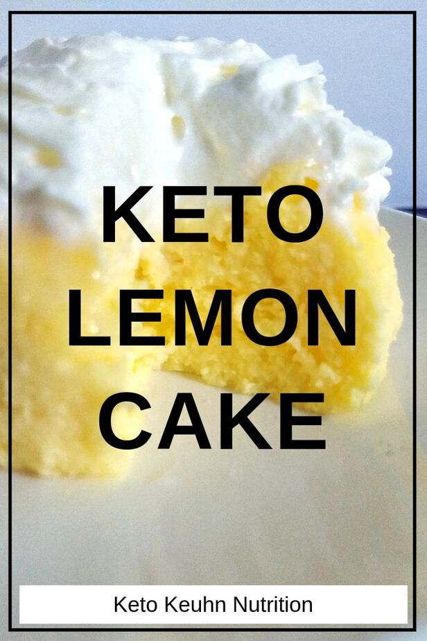 keto lemon cake 1 - Keto Lemon Mug Cake: 1 Total Carbs