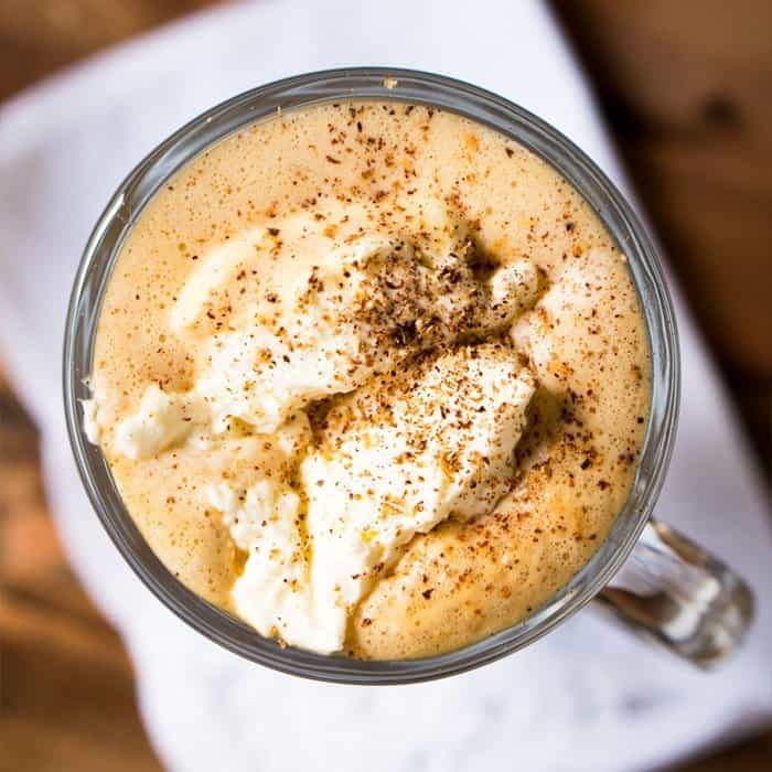 Keto Bulletproof Eggnog Latte by Gnom Gnom 1 - Keto Starbucks Holiday Drinks and Treats