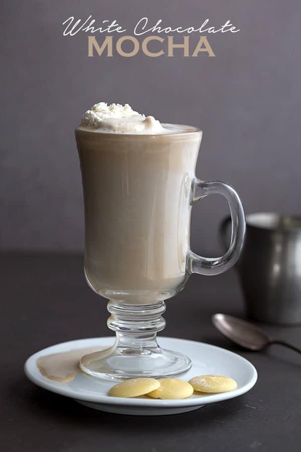 White Chocolate Mocha - Keto and Sugar Free