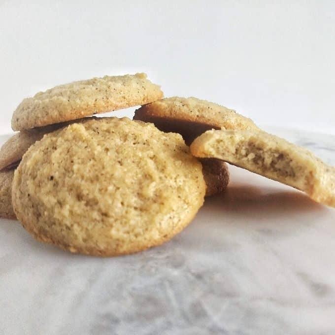 eggnog cookies f 680x680 - Keto Eggnog Cookies