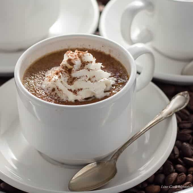 Sugar Free Coffee Creme Brulee (low carb, keto)