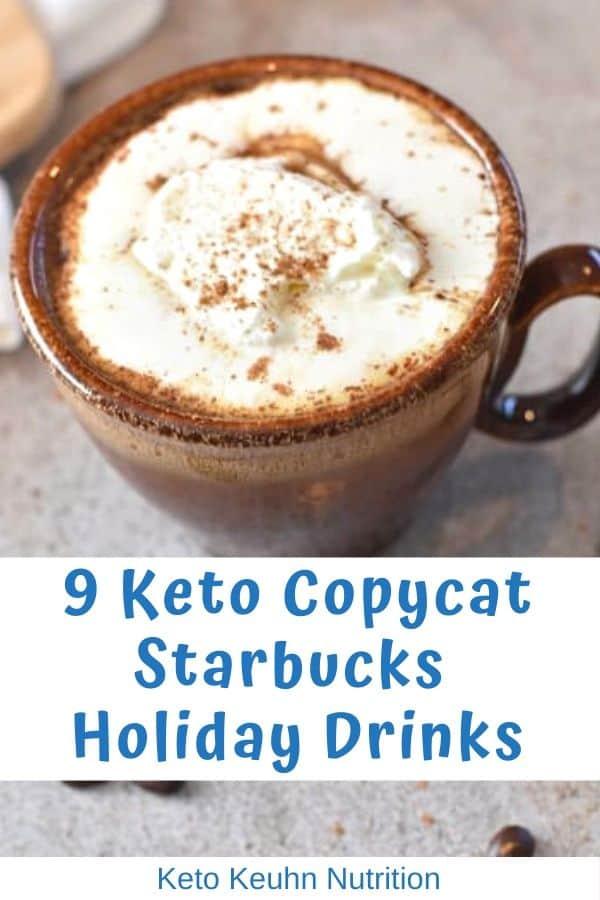 9 keto copycat starbucks holiday drinks