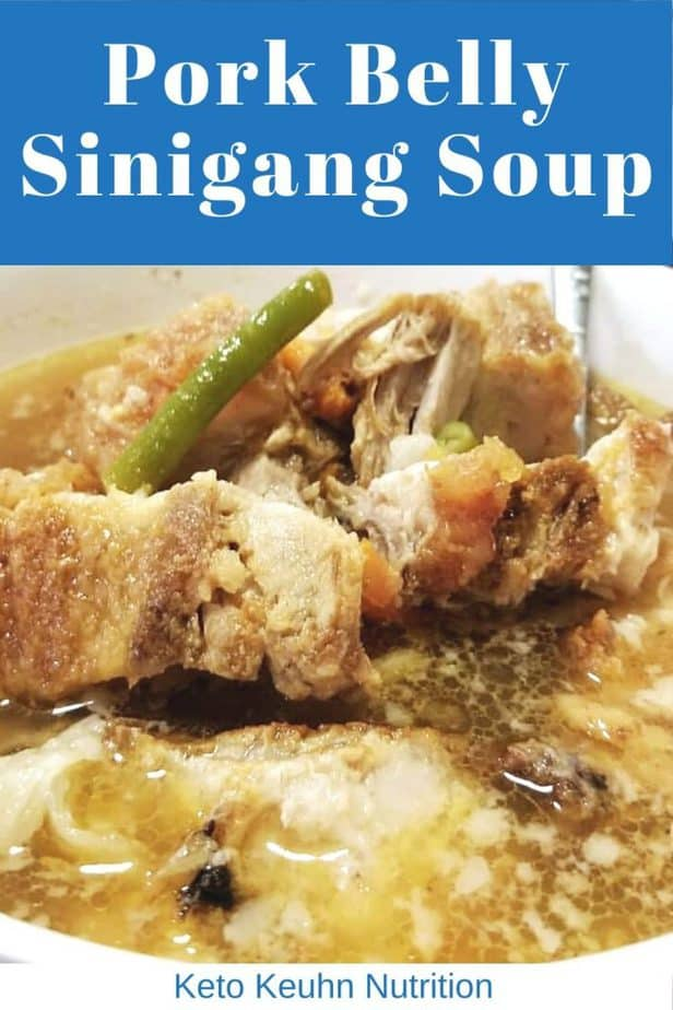 Pork Belly Sinigang Soup