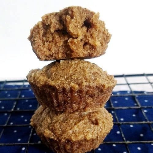 Keto Caramel Cinnamon Muffins
