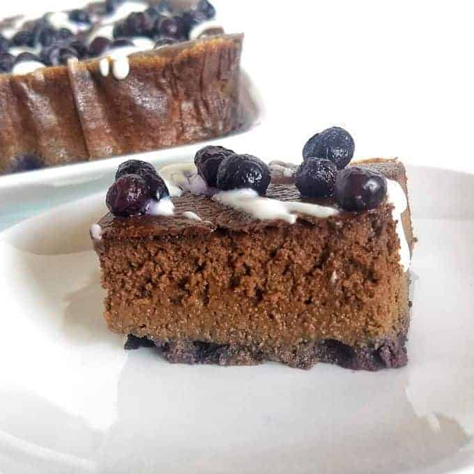 7 1 - Blueberry Chocolate Cake