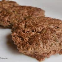 Burgers with Onion Gravy 200x200 - 62 Carnivore Diet Recipes