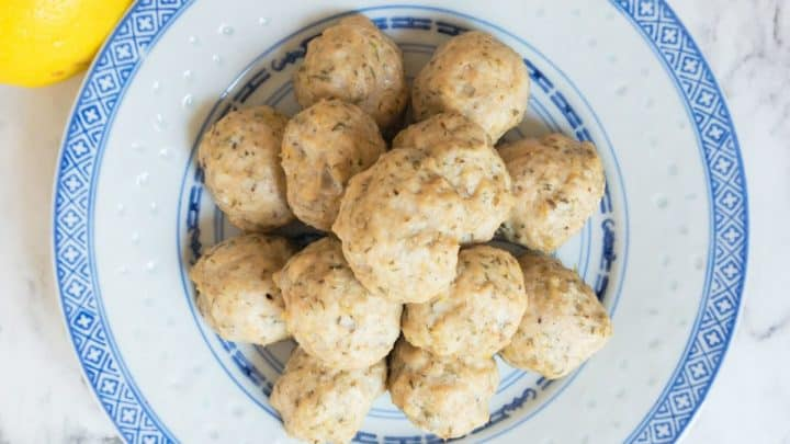 Greek Chicken Meatballs scaled e1585146689346 720x405 - 51 of the Best Carnivore Diet Recipes