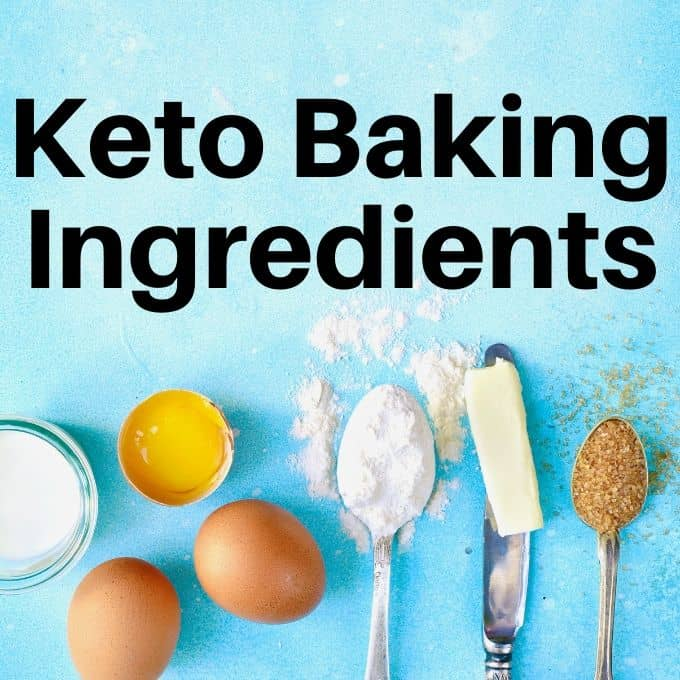 keto baking ingredients