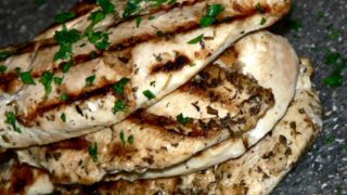 greek grilled chicken 320x180 - 20 Keto Camping Recipes