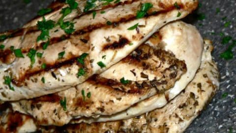 greek grilled chicken 480x270 - 20 Keto Camping Recipes