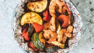 shrimp foil pack 14 320x180 - 20 Keto Camping Recipes